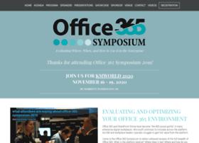 sharepointsymposium.com
