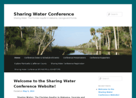 sharingwaterconference.com