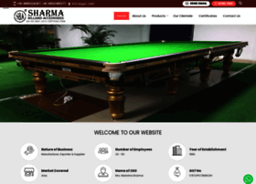 sharmabilliards.com