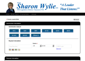 sharonfor49th.fastercampaigns.com