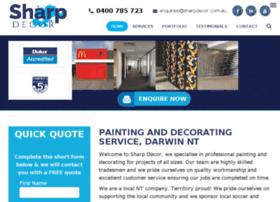 sharpdecor.darwinwebdesign.com.au