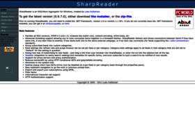 Sharpreader.net