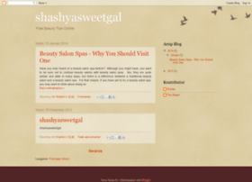 shashyasweetgal.blogspot.com