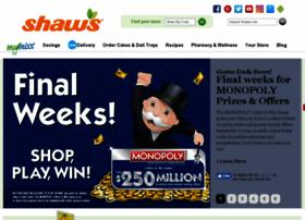 shaws.playmonopoly.us