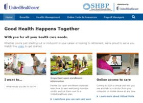 shbp.welcometouhc.com
