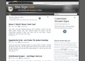 she-sign.com