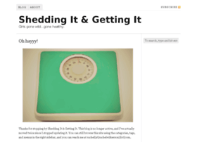 sheddingit.com