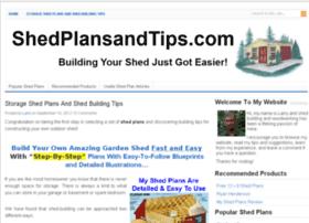 shedplansandtips.com
