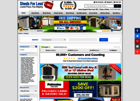 shedsforlessdirect.com