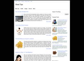 shedtips.blogspot.com