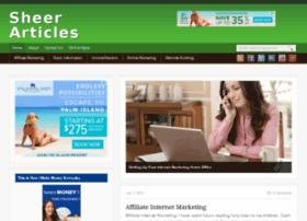 sheerarticles.com