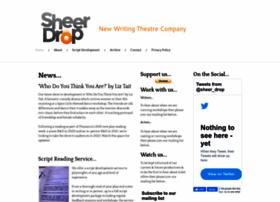 sheerdroptheatre.co.uk