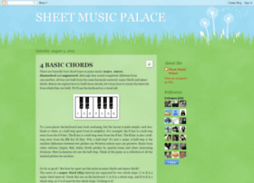 sheetmusicpalace.blogspot.com