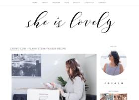 sheislovelyblog.com