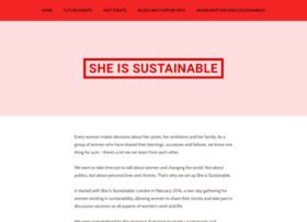 sheissustainable.org