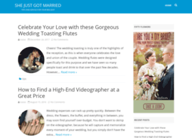 shejustgotmarried.com