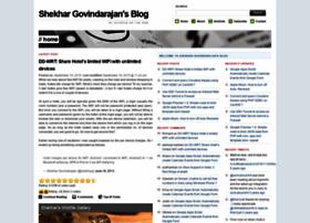 shekhargovindarajan.com