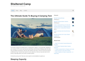 shelteredcamp.com