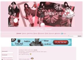 shenyuepop.forumotion.com