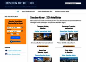 shenzhenairporthotel.com