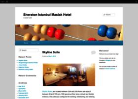 sheratonistanbul.edublogs.org