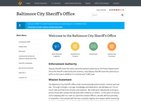 sheriff.baltimorecity.gov