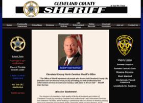 sheriffclevelandcounty.com