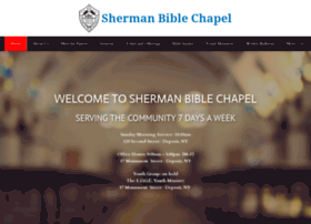 shermanbiblechapel.org
