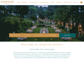 shervanihotels.com