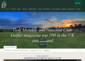 sherwoodforestgolfclub.co.uk