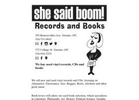 shesaidboom.com
