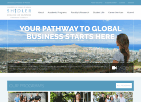 shidler.hawaii.edu