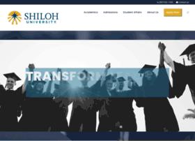 shilohuniversity.edu