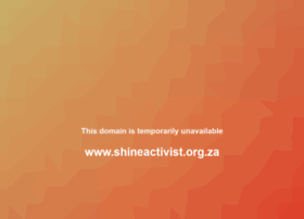 shineactivist.org.za