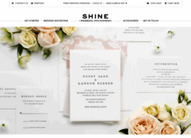 shineweddinginvitations.com