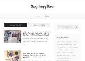 shinyhappyhome.com