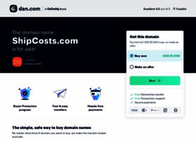 shipcosts.com