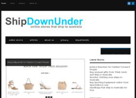 shipdownunder.com.au