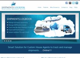 shipmentslogbook.com