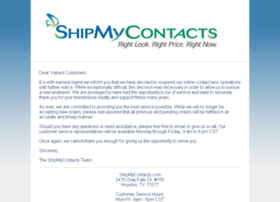 shipmycontacts.com