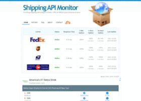 shippingapimonitor.com