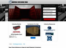 Shippingcontainerpros.com