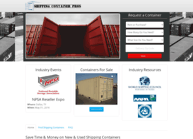 shippingcontainerpros.com