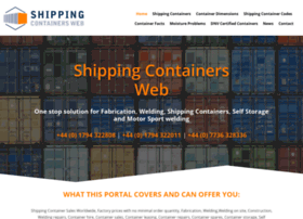 shippingcontainersweb.com