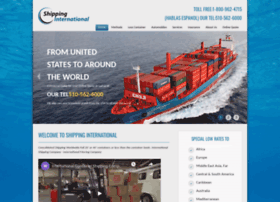 shippinginternational.com