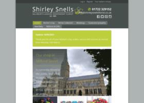 shirleysnellsflorist.co.uk