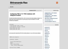 shivanandarao-oracle.com