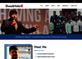 shoaibvalai.com