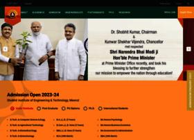 shobhituniversity.ac.in