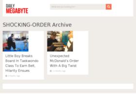 shocking-order.dailymegabyte.com
